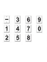 Piastra numerata per Stadia Idrometrica su TopografiaECad